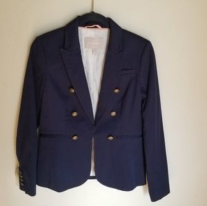 🆕️Banana Republic Navy Blazer with Gold Buttons